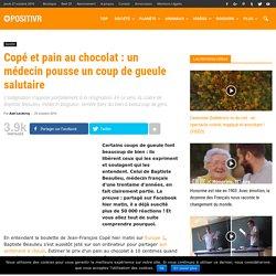 Copé et pain au chocolat : un médecin pousse un coup de gueule salutaire