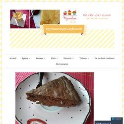 Gâteaux chocolat bounty au micro–ondes