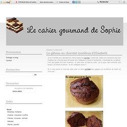 Le gâteau au chocolat moelleux d'Elisabeth