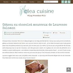 » Gâteau au chocolat mousseux de Laurence Salomon