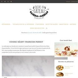 Cookie géant chocolat noisette caramel de François Perret