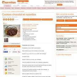 Cookies chocolat et noisettes : Recette de Cookies chocolat et noisettes