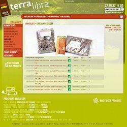 Chocolat pâtisser - Terra Libra
