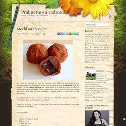 Mochi au chocolat - Pralinette en vadrouille