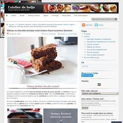Gâteau au chocolat presque sans lactose