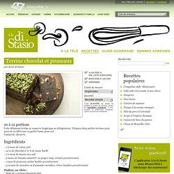 Terrine chocolat et pruneaux