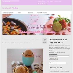 Glace au chocolat : recette en vidéo - cuisine de Fadila