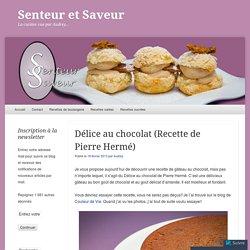 Délice au chocolat (Recette de Pierre Hermé)