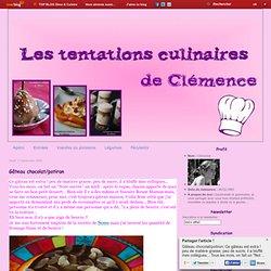 Gâteau chocolat/potiron