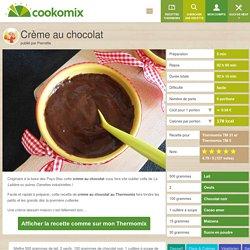 Crème au chocolat au Thermomix - Cookomix