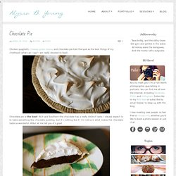 Chocolate Pie « In the Wabe