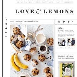 Vegan Chocolate Chip Banana Muffins Recipe