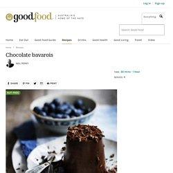 Chocolate bavarois Recipe