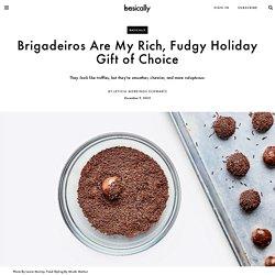 Chocolate Brigadeiros Are Rich, Fudgy Candies Made From Condensed Milk