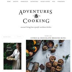 Citrus & Chocolate Brioche Buns - Adventures in Cooking