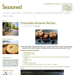 Quick and easy chocolate brownie recipe
