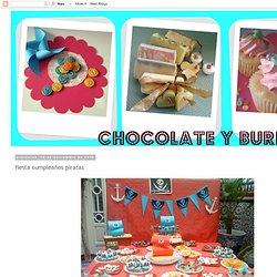 chocolate y burbujas: fiesta cumpleaños piratas