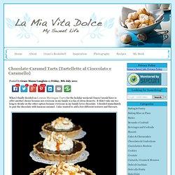 Caramel Tart-Caramel Tarts-Chocolate Tart-Chocolate Tarts-Pasta Frolla