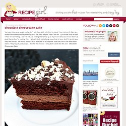 RecipeGirl.com - StumbleUpon