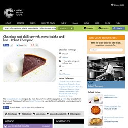 Chocolate & Chilli Tart Recipe