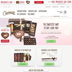 Chocolate bars by Chocomize – Create your own personalized chocolate from over 100 ingredients