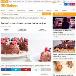 Barker's chocolate coconut torte recipe - 9Kitchen
