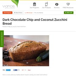 Viance - Dark Chocolate Chip and Coconut Zucchini Bread