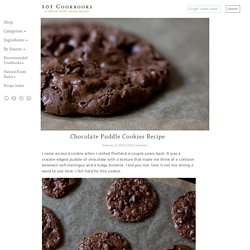 Chocolate Puddle Cookies Recipe