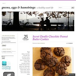 Secret Double Chocolate Peanut Butter Cookies « greens, eggs & hamstrings