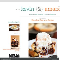 Chocolate Chip Lava Cookies | Kevin & Amanda - StumbleUpon