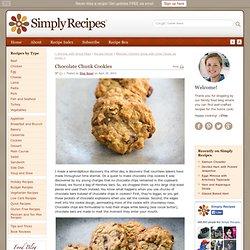Chocolate Chunk Cookies Recipe