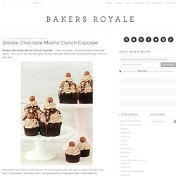 Chocolate Mocha Cupcake