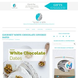 Chocolate dipped Dates recipe