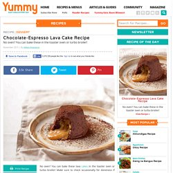 Chocolate-Espresso Lava Cake Recipe