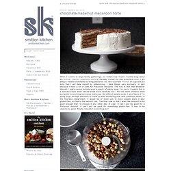 chocolate-hazelnut macaroon torte