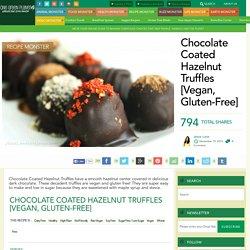 Chocolate Coated Hazelnut Truffles [Vegan, Gluten-Free]