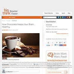 How Chocolate Keeps Your Brain Healthy