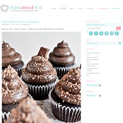 Chocolate Lover's Cupcakes