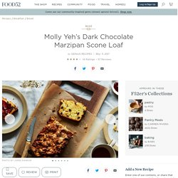 Molly Yeh's Dark Chocolate Marzipan Scone Loaf Recipe on Food52
