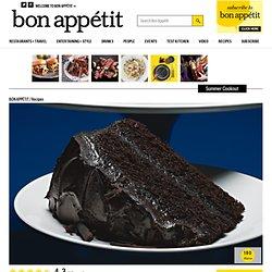 cake. Coffee-Chocolate Layer Cake with Mocha-Mascarpone Frosting