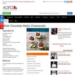 White Chocolate Mojito Cheesecake Recipe