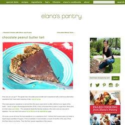 Gluten Free Vegan Chocolate Peanut Butter Tart Recipe - Gluten Free Recipe