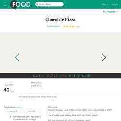 Chocolate Pizza Recipe