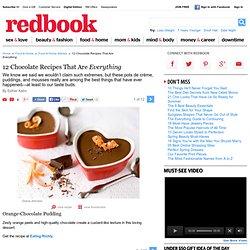 Chocolate Pudding Mousse Pots de Creme Recipes - Chocolate Dessert Recipes - Delish