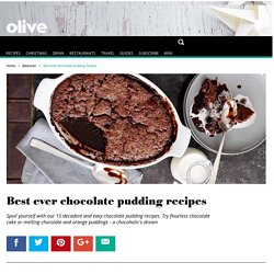 15 Best Ever Chocolate Pudding Recipes