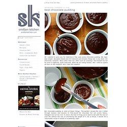 best chocolate pudding