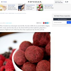 Chocolate Raspberry Protein Balls