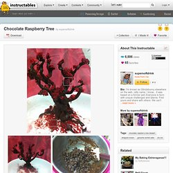 Chocolate Raspberry Tree
