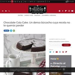 Chocolate Cola Cake. Receta de postre fácil y sencilla