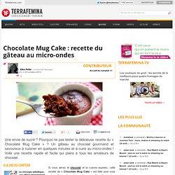 Chocolate Mug Cake : recette du gâteau au micro-ondes